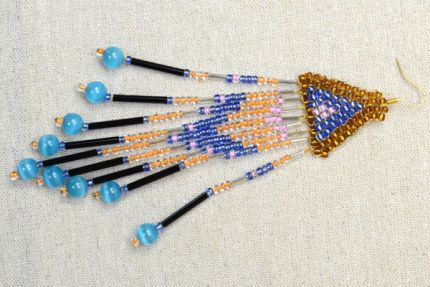 Free Brick Stitch Seed Bead Patterns | Guide To Beadwork Blog