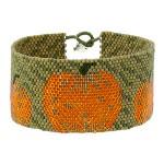 Rain Falling on Pumpkins Bracelet