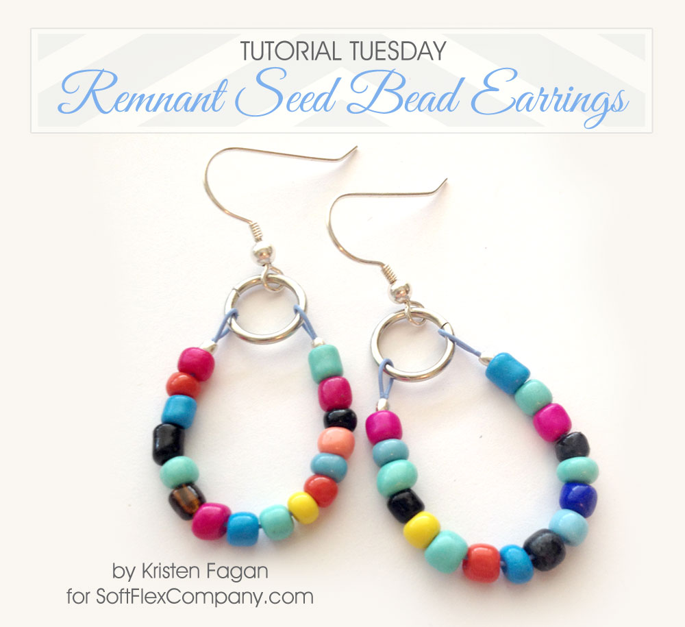 Remnant Seed Bead Earrings