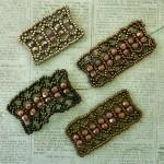 Netted Crystals Bracelet