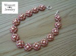 Peony Necklace with Piggy Beads and SuperDuos