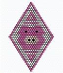Little Piglet Brick Stitch Pattern