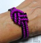 Herringbone Weave with Superduo Beads