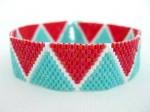 Zigzag Summer Peyote Bracelet