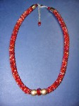 Beaded Kumihimo Necklaces