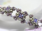 Bracelet Using Right Angle Weave And Netting