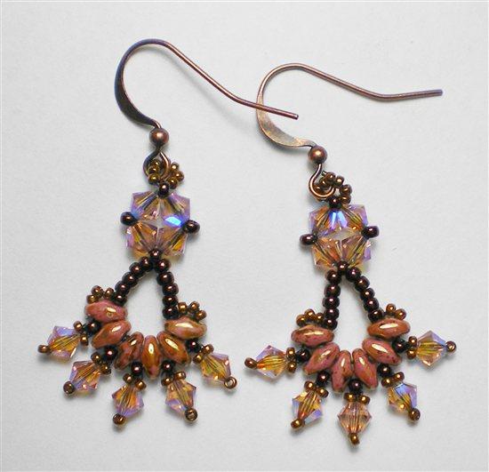 Super Duo Bead Earring Patterns Www Picswe Com