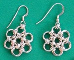 Easy Chain Maille Earrings Tutorials