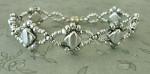 Silver Silky Deco Chain Bracelet