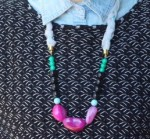 Mixed Materials DIY Beaded Necklace