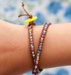 Bohemian Style Wrap Bracelets