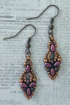 Free Beading Pattern Elinor Earrings