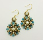 Cleopatra Earrings Beading