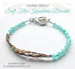 Soft Flex Kumihimo Bracelet