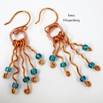 Desert Rain Wire Earrings Tutorial
