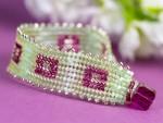 Cranberry Mint Spritzer Bracelet