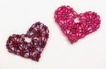 Pretty Beaded Heart