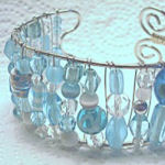 Beaded Wire Bracelet Tutorial