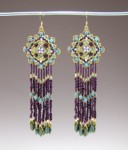 Venetian Tapestry Earrings Pattern